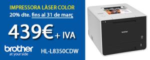 Promoció 20% dte. HL-L2350CDW