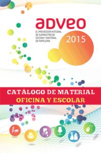 Catálogo material oficina y escolar